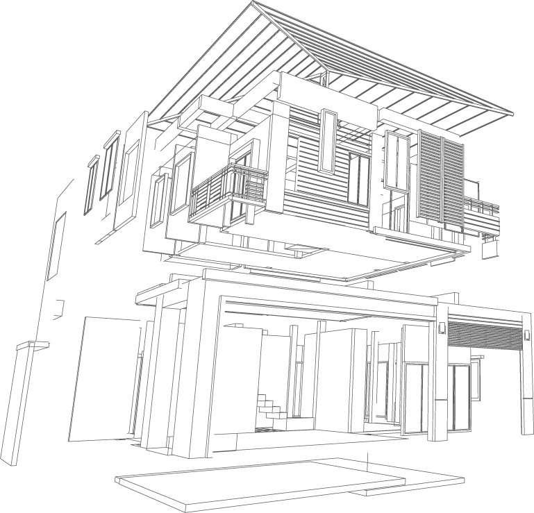 reforma interiores construccion 3d cocina