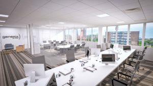 reforma interiores construccion iderik oficina